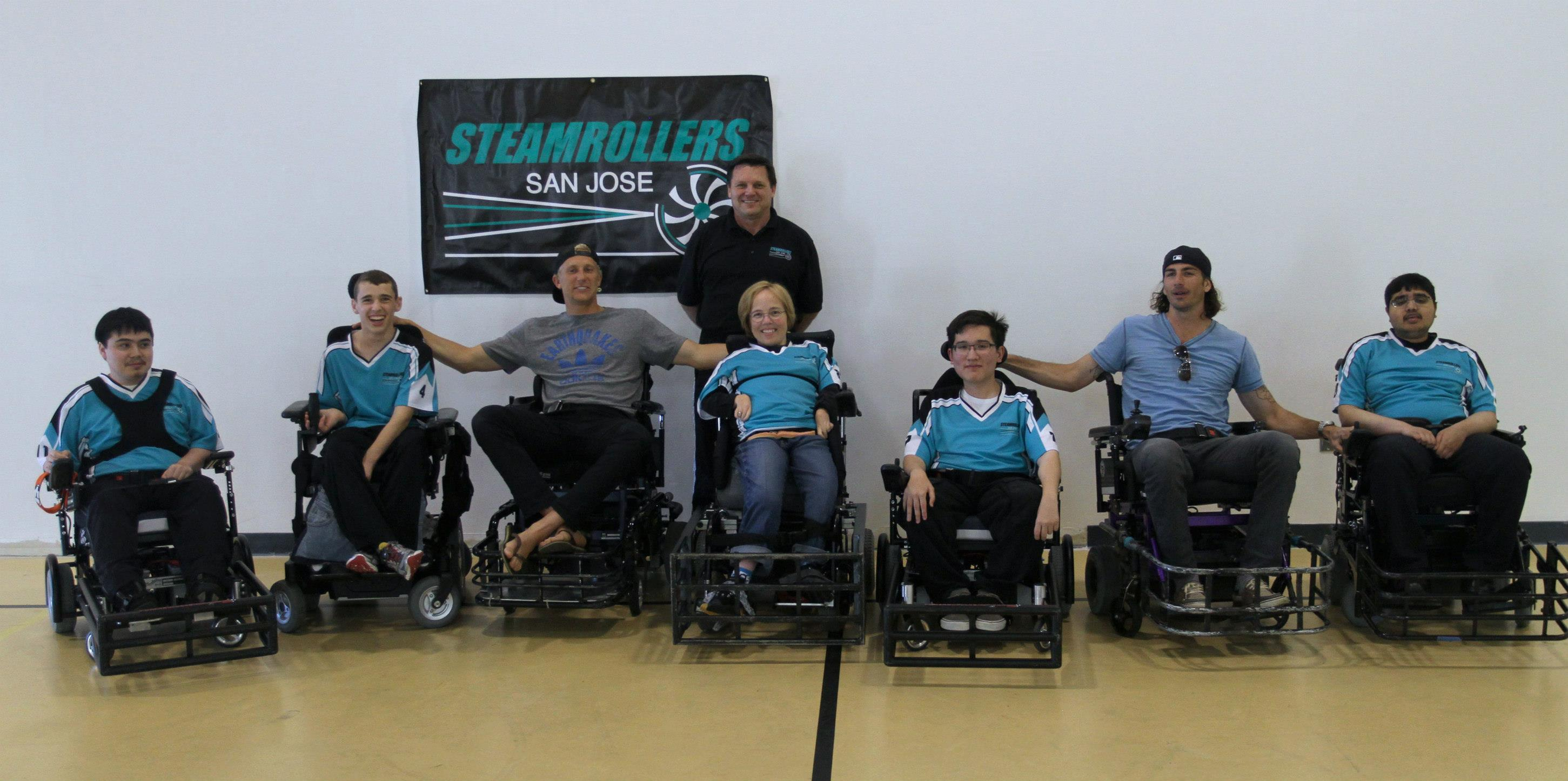 steamrollers team shot with Lenhart and Gordon